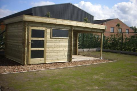 Tuinhuis 3 op 6 - JD Houtconstruct