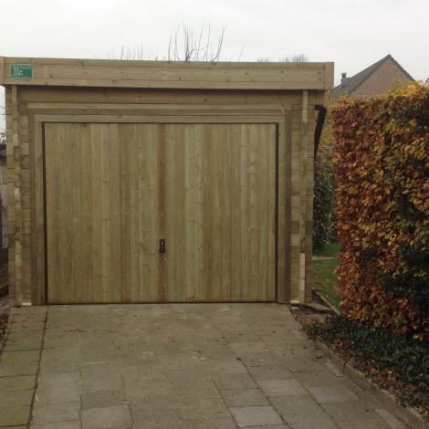 Garage open opslagruimte - JD Houtconstruct